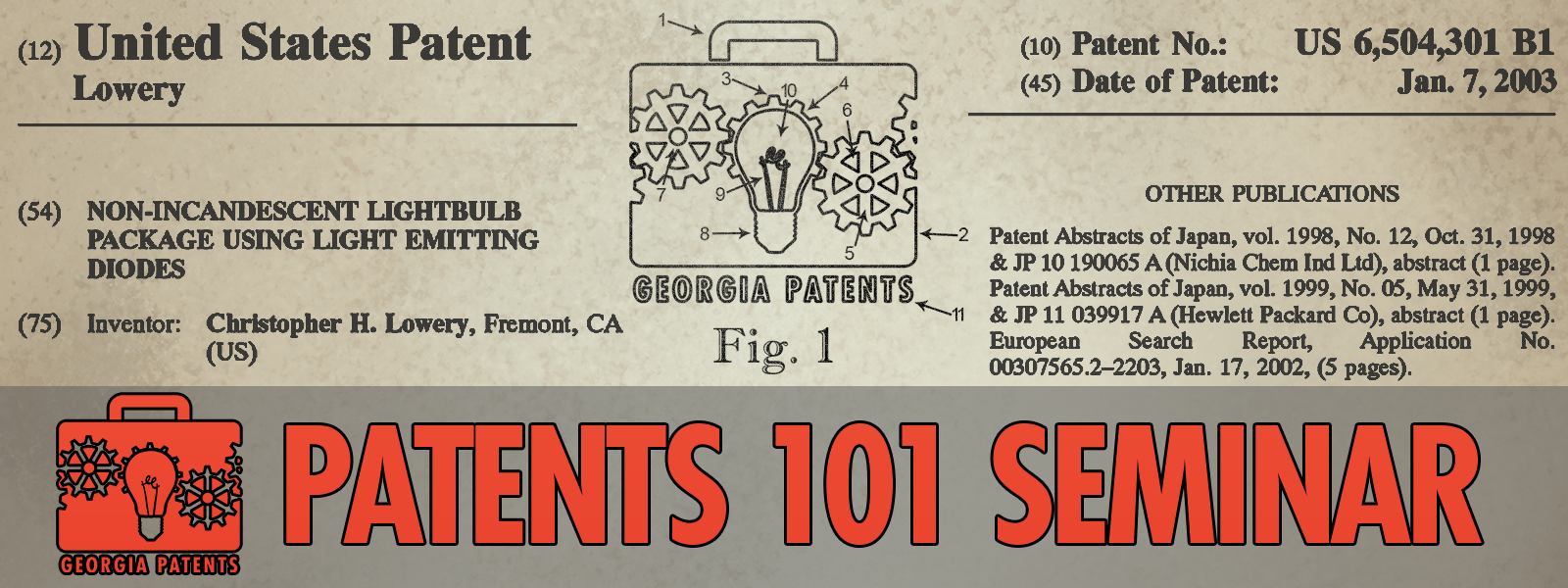 Patents 101 Webinar
